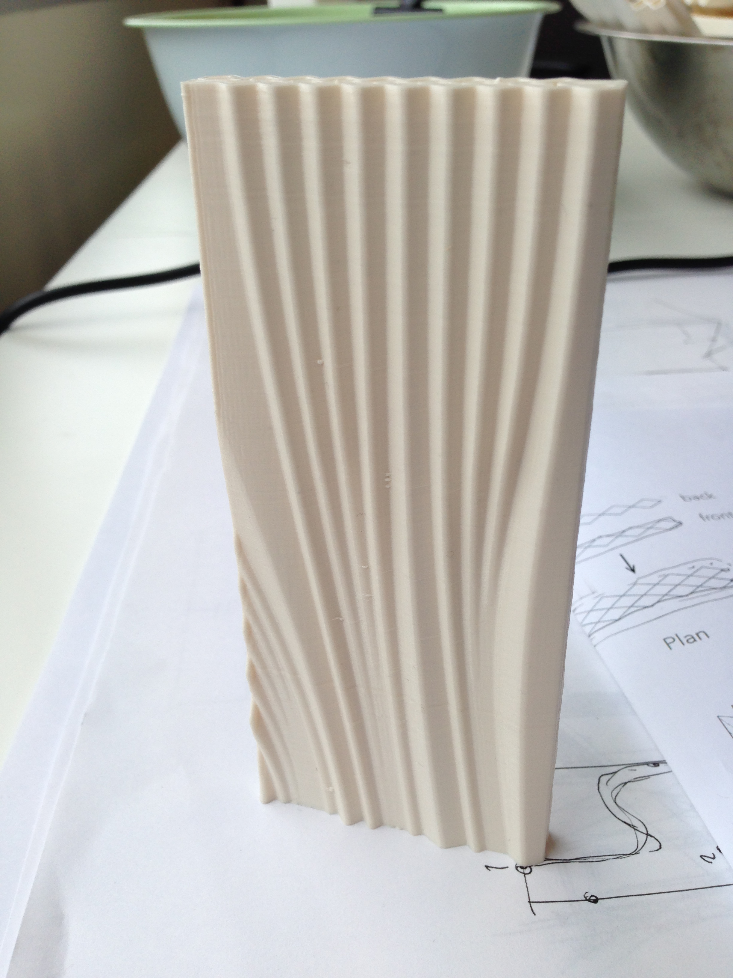 3dprintcanalhouse By Dus Architects Structured Panel Wiring Examples Forward Home The Wall Has Shafts Of Different Dimensions Larger Structural Shaft Run Towards Locations Where Adjacent Rooms Need Support